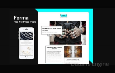 Тема для WordPress — FORMA