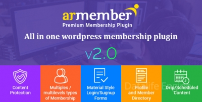 ARMember 2.0 – WordPress Membership Plugin