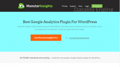 MonsterInsights Pro v6.2.0 - детальная настройка google analytics для WordPress