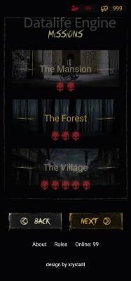 Дизайн для хоррор игры